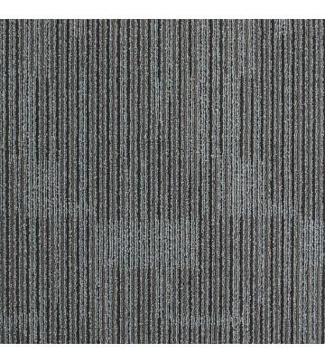 Schlingen Teppichfliese Zenit (Grau/Braun)