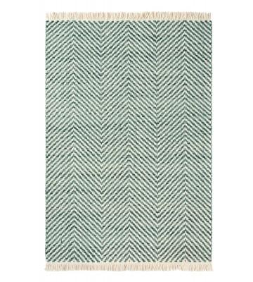 Brink&Campman Flachgewebe Teppich Atelier Twill - Blau