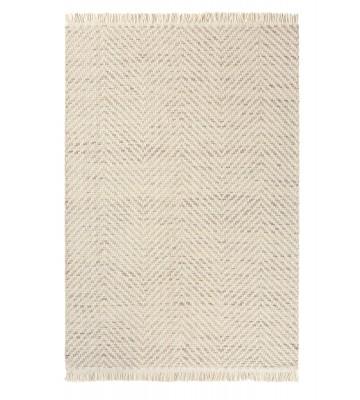 Brink&Campman Flachgewebe Teppich Atelier Twill - Creme