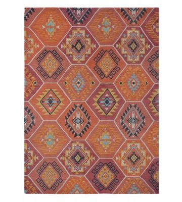 Brink&Campman Schurwollteppich Yara Nomad 33403 - Orange
