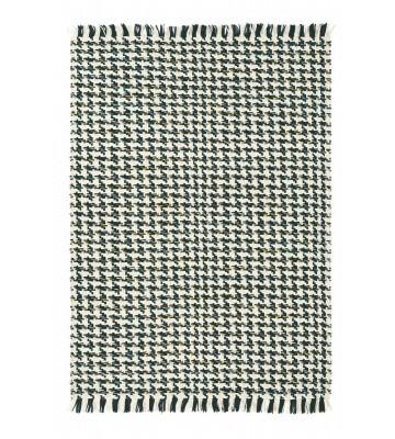 Designer Flachgewebe Teppich Atelier Poule - Schwarz/Weiß