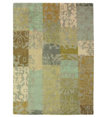 Designer Vintageteppich Yara Patchwork 194001 - Creme