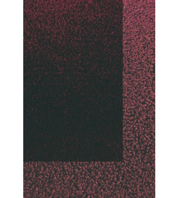Frisee Teppich mit Schlingenbordüre Twinset Skyline - Bordeaux