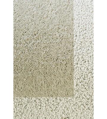Frisee Teppich mit Schlingenbordüre Twinset Skyline - Creme