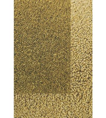 Frisee Teppich mit Schlingenbordüre Twinset Skyline - Khaki