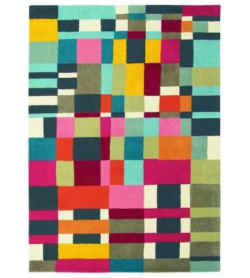 Teppich Estella Domino - Bunt