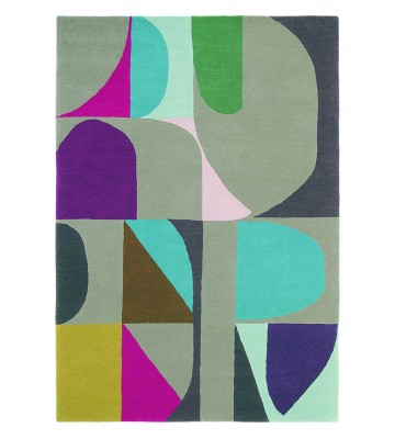 Teppich Estella Harmony - Bunt/Grau