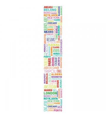 Accent - ACE67185937 - Duplex Panel: Städte (Bunt)