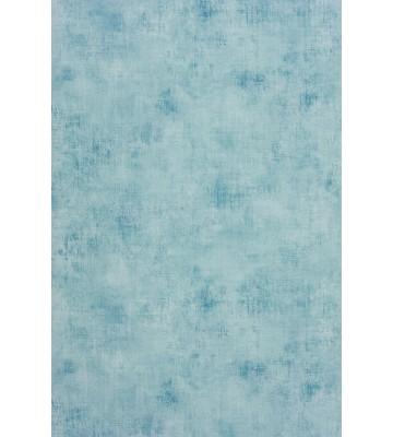 Caselio Faux-Uni Tapete TELA63626001 (Blau/Weiß)