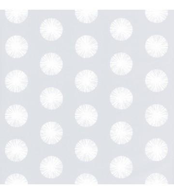 Caselio - Retro Tapete - SMILE POM POM GIRL SMIL69739121 (Eisgrau)