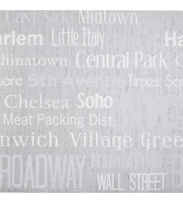 LIFE - LIF64429078 Tapete: Manhattan (Grau)