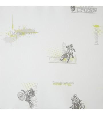 ONLY BOYS - Tapete OLB64817000: Motorcross (Grün)