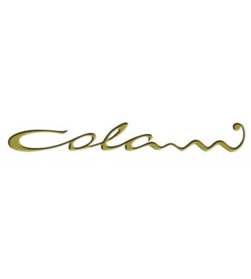 Colani Legend Schriftzug 76970 zur Tapetendekoration (Gold)