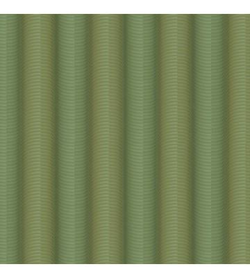 Colani Legend Tapete - versetzte Wellen (Eidechsengrün)