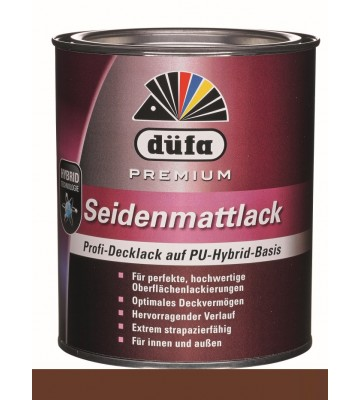 Premium Seidenmattlack - Coffee