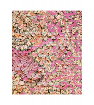 Eijffinger Fototapete Sundari 375208 - Scallop Wall - Fuchsia