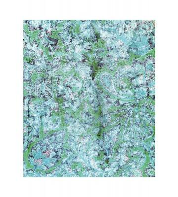 Eijffinger Fototapete Sundari 375212 - Faded Wall - Grün