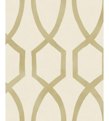 Eijffinger Mustertapete Stripes+ 377043 (Creme/Gold)