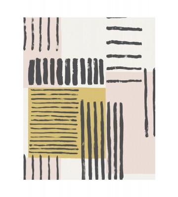 Eijffinger Mustertapete Stripes+ 377130 - Pinselstriche (Ocker)