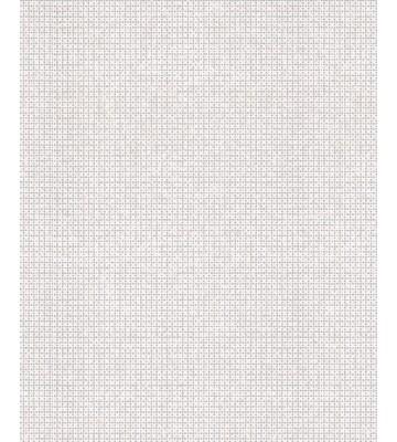 Eijffinger Reflect Vliestapete 378020 - Perlenraster Optik (Creme/Silber)