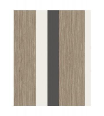 Eijffinger Streifentapete Stripes+ 377033 - Grasoptik (Schwarz)