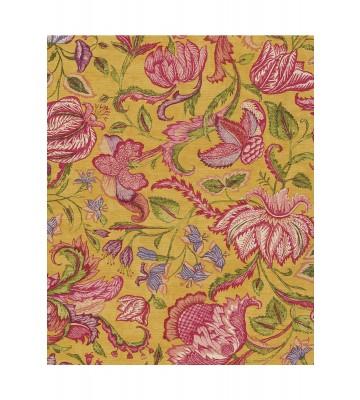 Eijffinger Sundari Vliestapete 375103 - Exotische Blumen (Gelb)