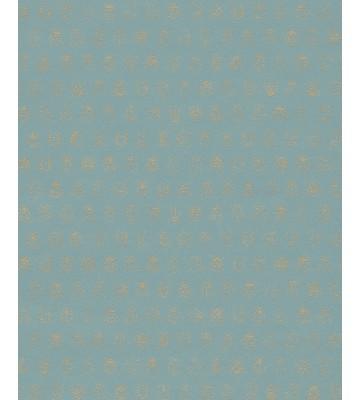 Eijffinger Tapete PIP 4 375032 - Lady Bug (Kobaltgrün)