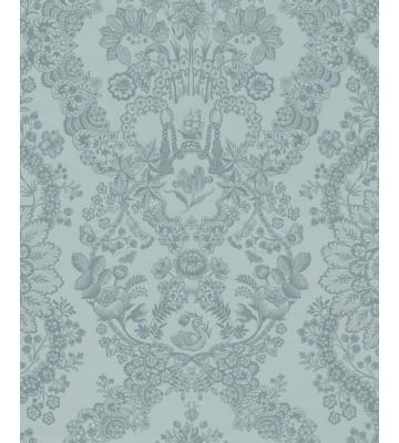 Eijffinger Tapete PIP 4 375042 - Lacy Dutch (Blaugrün)