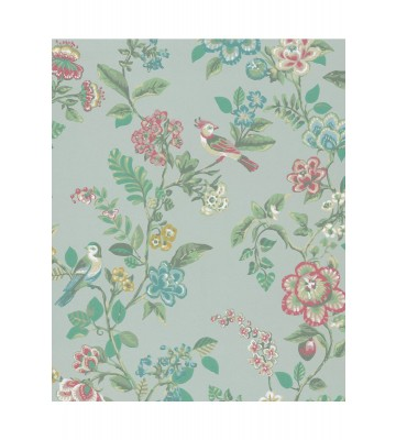 Eijffinger Tapete PIP 4 375061 - Botanical Print (Grün)