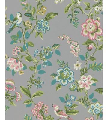 Eijffinger Tapete PIP 4 375065 - Botanical Print (Grau)