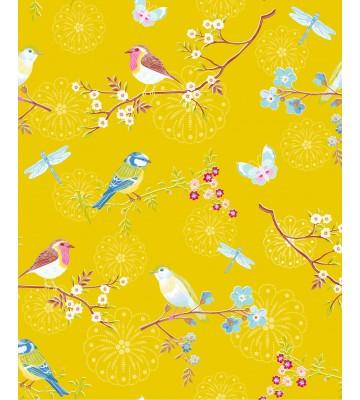 Eijffinger Tapete PIP 4 375083 - Early Bird (Gelb)
