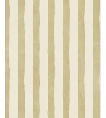 Eijffinger Tapete Stripes 377053 Pinsel Streifen Creme Gold Von Eijffinger Raumkult24 De