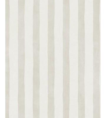 Eijffinger Tapete Stripes+ 377054 - Pinsel Streifen (Creme/Sand)