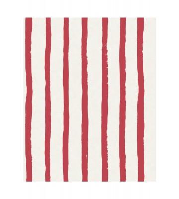 Eijffinger Tapete Stripes+ 377071 - Pastellstreifen (Rot)