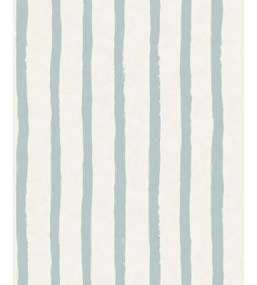 Eijffinger Tapete Stripes+ 377073 - Pastellstreifen (Hellblau)