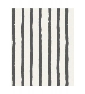 Eijffinger Tapete Stripes+ 377075 - Pastellstreifen (Schwarz)