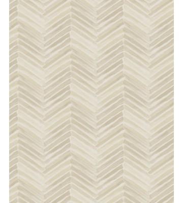 Eijffinger Tapete Stripes+ 377090 - Fischgrätmuster (Beige)
