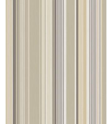 Eijffinger Tapete Stripes+ 377110 - strukturierte Streifen (Beige)