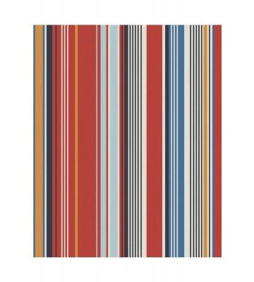 Eijffinger Tapete Stripes+ 377113 - strukturierte Streifen (Rot)