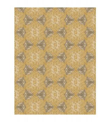Eijffinger Tapeten Panel Siroc 376095 - Boho Flower (Gelb/Weiß)