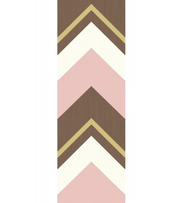 Eijffinger Tapeten Panel Stripes+ 377202 CRISSCROSS (Rosa)