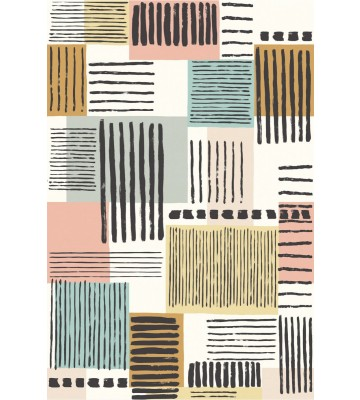 Eijffinger Tapeten Panel Stripes+ 377205 PAINTED PATCHWORK