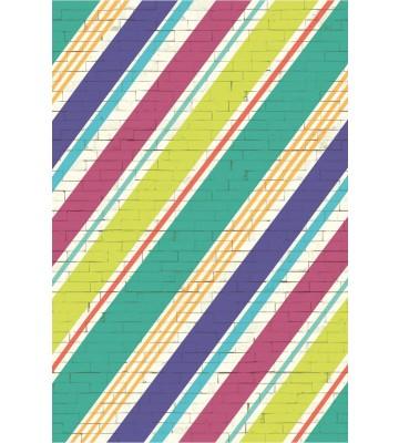 Eijffinger Tapeten Panel Stripes+ 377207 DIAGOGO BRICKS