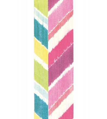 Eijffinger Tapeten Panel Stripes+ 377210 GRAND ZIGZAG (Bunt/Pink)