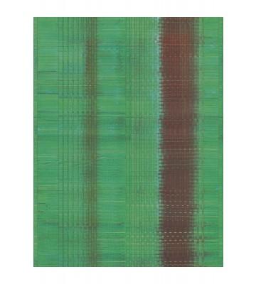 Eijffinger Tapeten Panel Sundari 375200 - Wave (Grün)