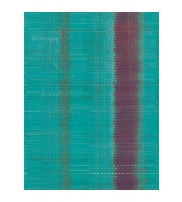 Eijffinger Tapeten Panel Sundari 375201 - Wave (Blau)