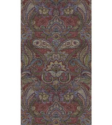 Eijffinger Tapeten Panel Sundari 375205 - Kashmir (Bordeaux)