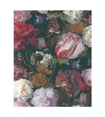 Eijffinger Vliestapete Masterpiece 358002 - Blumen Gemälde (Grün)