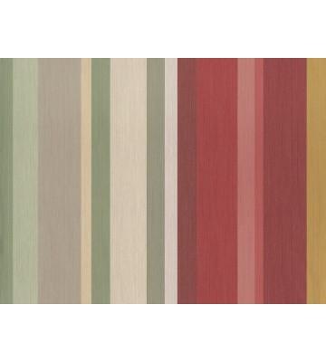 Eijffinger Vliestapete Masterpiece 358024 - Streifen (Grün/Rot)