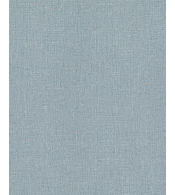 Eijffinger Vliestapete Masterpiece 358051 - Leinen Optik (Türkis)